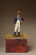 5414SOGA Lieutenant of the Tirailleur-Chasseurs of Youg Guard. France 1812.