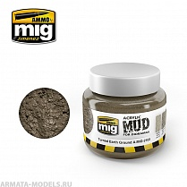 AMIG2103 Ammo Mig Текстурная паста TURNED EARTH GROUND