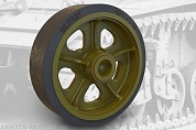 35001FURY Сварные катки для  US light tank M3/M3A1/M5 (Stuart) welded roadwheels set