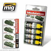 AMIG7004 Ammo Mig RUSSIAN 4BO MODULATION SET