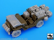 BDT35044 1/35 US JEEP Big accessories set (TAM)
