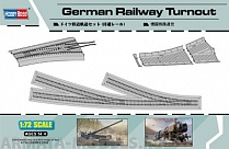 82909 Рельсы German Railway Turnout