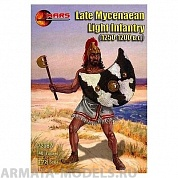 72087MR Фигуры Late Mycenaean Light Infantry 1/72