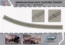 82910 Рельсы German Railway Curved Track (Hobby Boss) 1/72