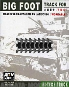 AF35133  Траки на M2A2/M3A3/AAV7A1/MLRS LATE/CV90 BIG FOOT