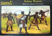 H049CSR Фигуры Nubian Warriors 1/72 Caesar Miniatures