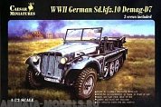 7204CSR WWII German Sd.Kfz.10 Demag-D7 1/93