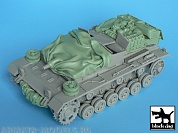 BDT35009 1/35 Stug III C\D accessories set  (DRAG)