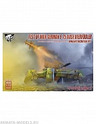 UA72113 Fist of War German WWII E75 Ausf.vierfubler Rheintochter 1