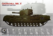 AF35155 Танк Сhurchill Mk V British Infantry