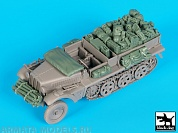 BDT35155 1/35 Sd.Kfz 10 accessories set (DRAG)